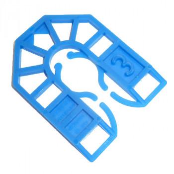 55 X 43 mm PLASTIC SHIM 14mm SLOT X 3mm