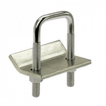 41mm U Bolt & Bracket Stainless Steel