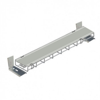 1000mm Under Desk Basket Tray With Lid and clips