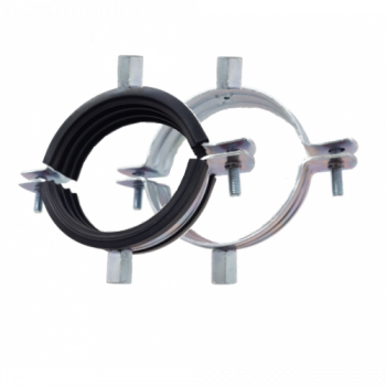 210-215mm Premier Double Sided Rubber Lined Pipe Clamps