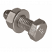 Set  - M6 x 25mm Hex Bolt / Nut & Washer x 100 - (A4 Stainless)