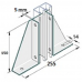 Double Gusset Base Plate (P2348-S2)