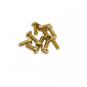 M4 Pan Head Screw, Brass (Pack of 100 Pcs)