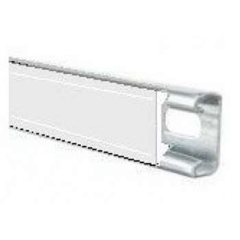 White Plastic Channel Closure Strip - (3 Meter)