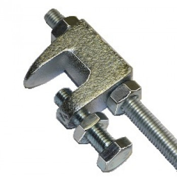 M8 Zinc Flake Flange Clamp