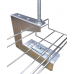 300mm Overhead G Hanger Basket Support