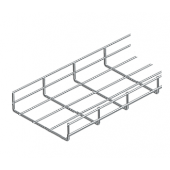 200mm Cable Basket Tray x 3 Metre (HDG)