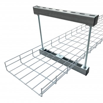100mm Cable Basket Trapeze Support Bracket (HDG)