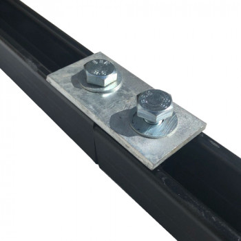 2 Hole Channel  Flat Plate - Type (P1065)