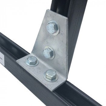 Right Angle Delta Plate 2x2 Hole - Type (P1359)