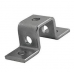 41mm Top Hat U Bracket - A4 Stainless
