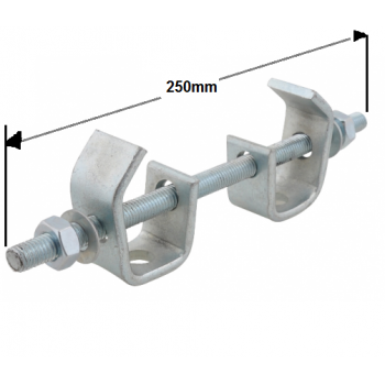 250mm Heavy Duty Beam Clamp Assembly