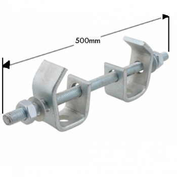 500mm Heavy Duty Beam Clamp Assembly