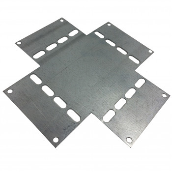 Cross Over Plate for 75mm Premier Tray (HDG)