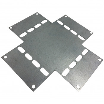 Cross Over Plate for 100mm Premier Heavy Duty