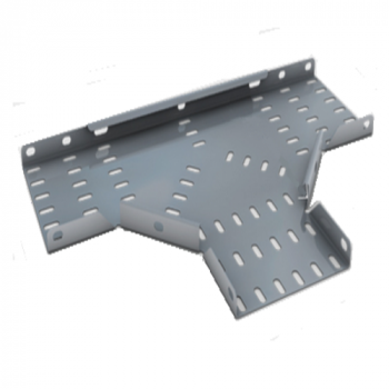 Flat Tee Bend for 50mm Medium Duty Tray - (HDG)
