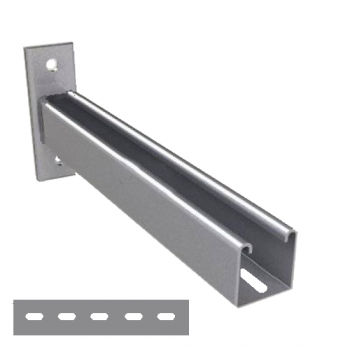 600mm - Slotted Cantilever Arms