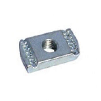 M6 Plain Channel Nuts - Box of 100