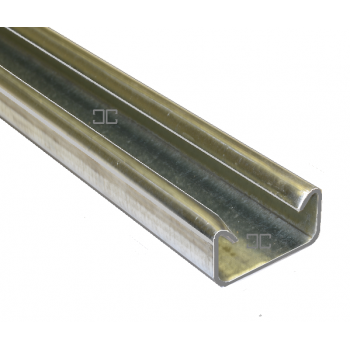 21mm Plain Channel - 2 Metre