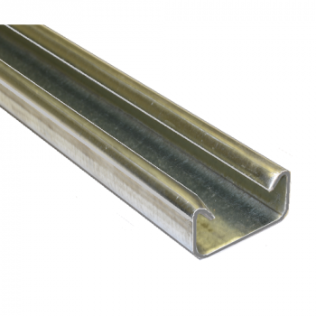 21mm Plain Channel Hot Dipped Galvanised - 4 Metre