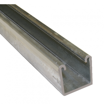 41mm Plain Channel Hot Dipped Galvanised - 2 Metre