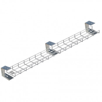 2800mm Under Desk Basket Tray
