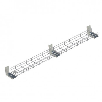 2900mm Under Desk Cable Tidy Tray