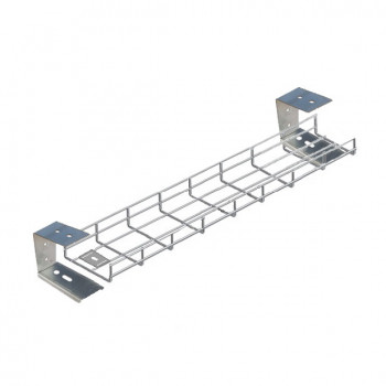 400mm Under Desk Basket Tray