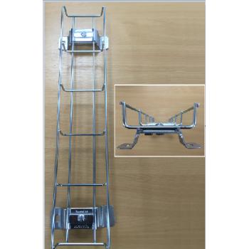 500mm Vertical Cable Riser Under Desk Cable Management