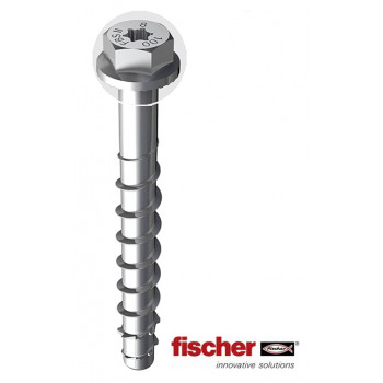 Fischer FBS II Ultracut 10 x 200mm Concrete Screw (Box of 20)