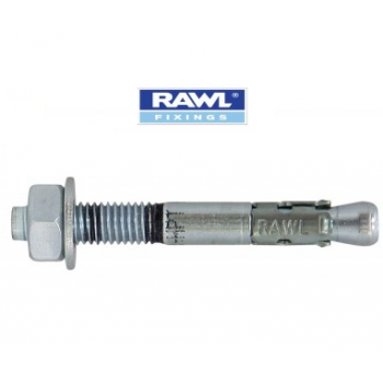 Rawl Plug - M12 x 120mm Throughbolt Zinc Flake