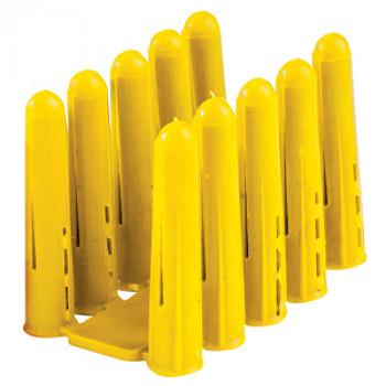 Rawl Plug - Yellow Rawl Plug x 100