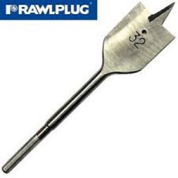 20.0x150mm Flat Wood Drill Bit (Pack of 8)