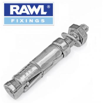 Rawl Plug - M8x25 Shield Anchor Projecting Bolt