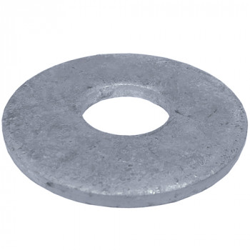 M6 x 18mm Round Form G Washers x 100 (HDG)