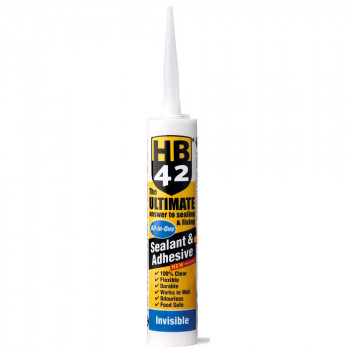 Ultimate 'All in One' Sealant & Adhesive 290ml (Invisible)