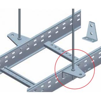 90 Degree Ladder Support Bracket