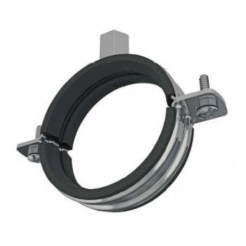 108-118mm Premier Rubber Lined Pipe Clamps