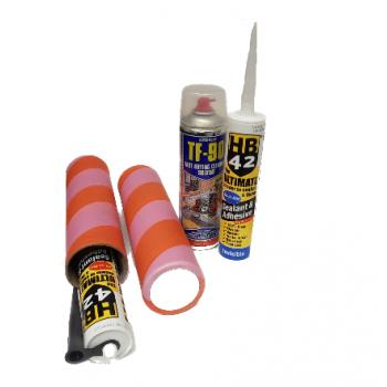 Adhesive / Silicon Tube Protector Sleeve x 1