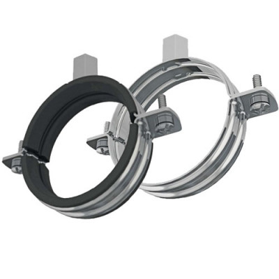 Pipe Clamps Rubber And Unlined