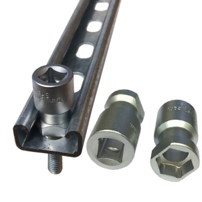 Channel Sockets for Unistrut