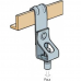 Walraven - M6 Vertical Flange (5-7mm) Threaded Rod Hanger