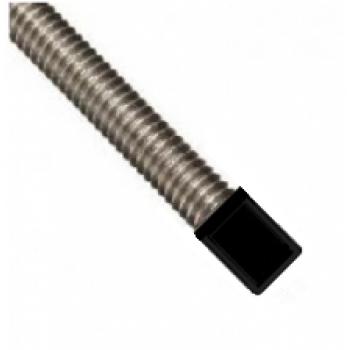 M8 Black Plastic  Rod End Caps - (Pack of 100)