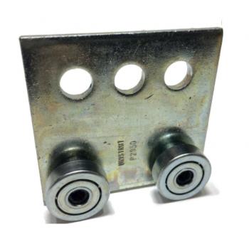 Unistrut Metal Channel Trolley Double Wheel