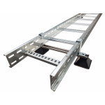 Ladder Floor Mount (HDG)