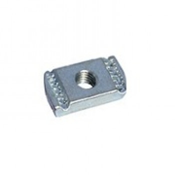 M8 Plain Channel Nuts - Galvanized - Box of 100