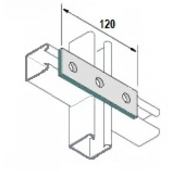 3 Hole Flat Plate  (Stainless Steel)