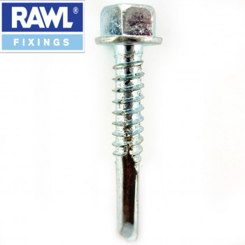 Rawl Plug - 4.8 x 16mm Self Drilling Tech Screws x 100